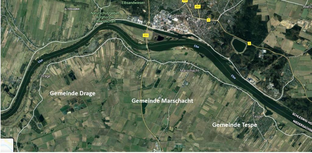 Auszug aus Google Maps